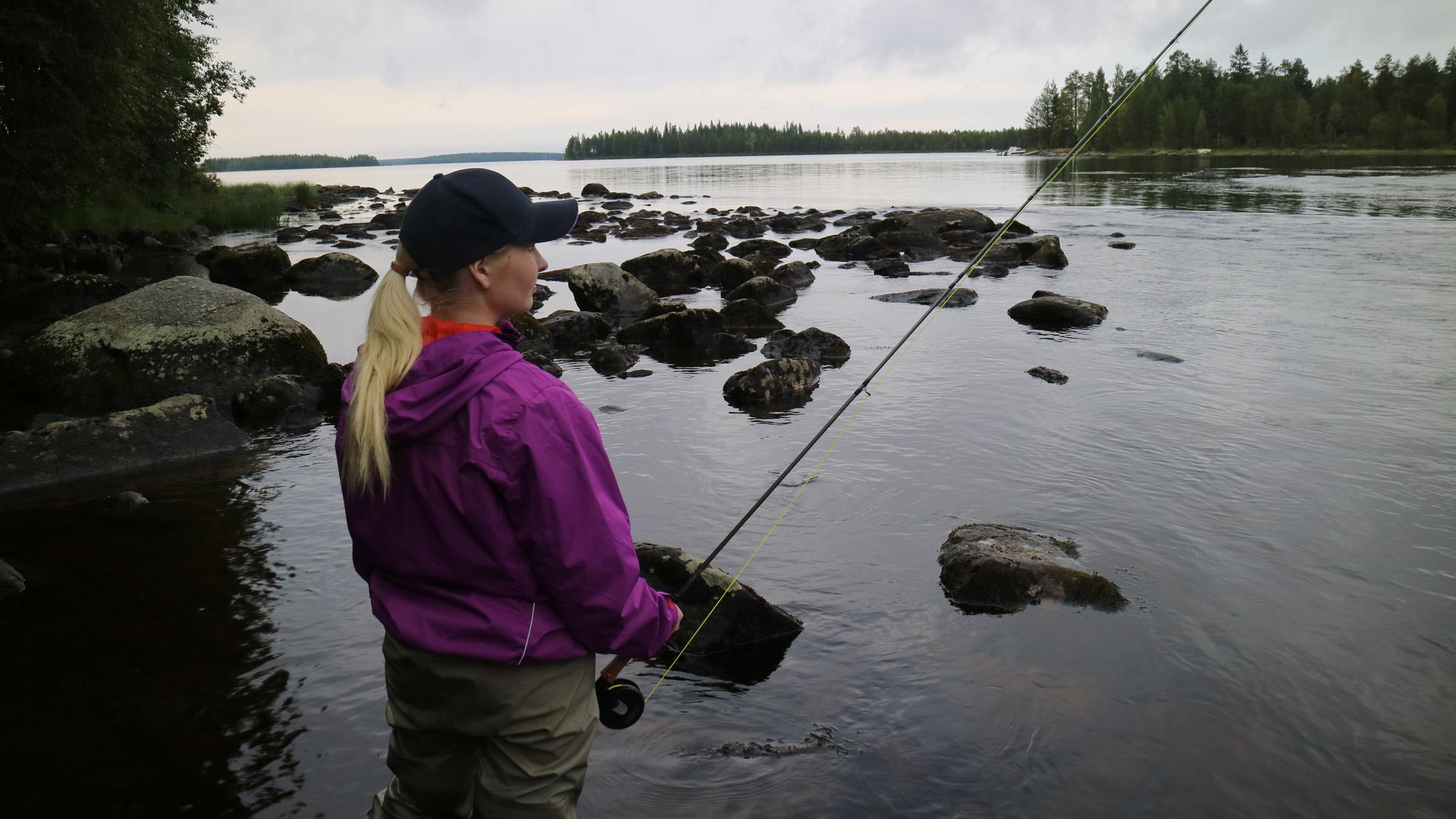 Lentuankoski Suomen kosket